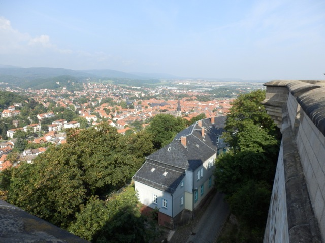 Aussicht vom Schloss Wernigerode