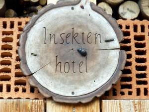 Insektenhotel im Wildpark Wernigerode