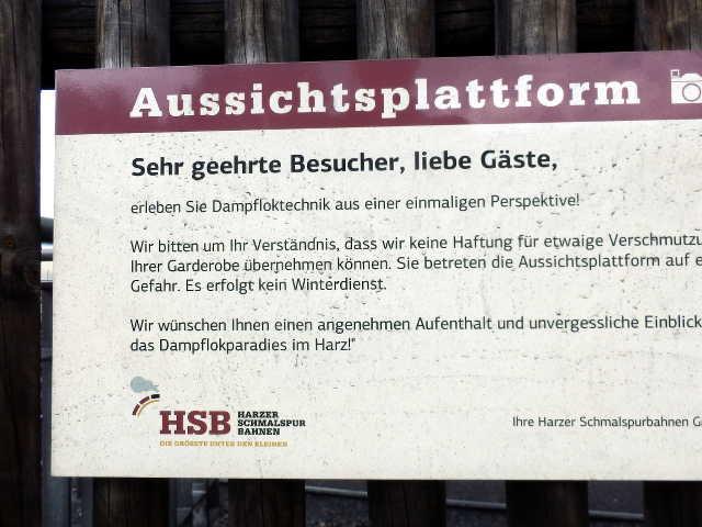 Aussichtsplattform Wernigerode
