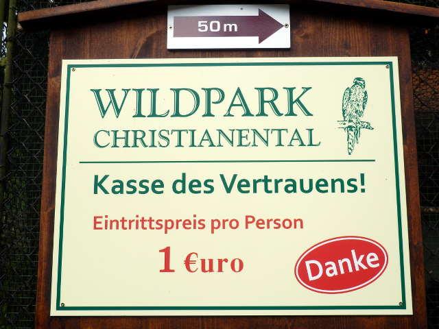 Eintritt Wildpark Wernigerode