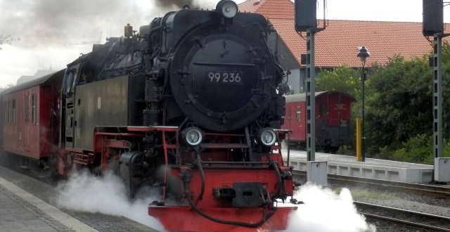 Die Harzer Schmalspurbahn in Wernigerode - ein Traum für jeden Eisenbahnfreund 2