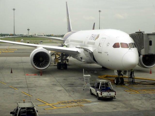 Boing 787-8 Dreamliner von Thaiairways