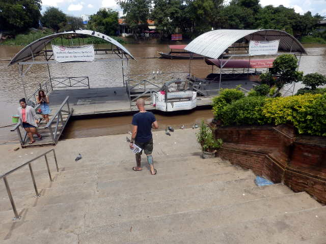 Am Ping River in Chiang Mai