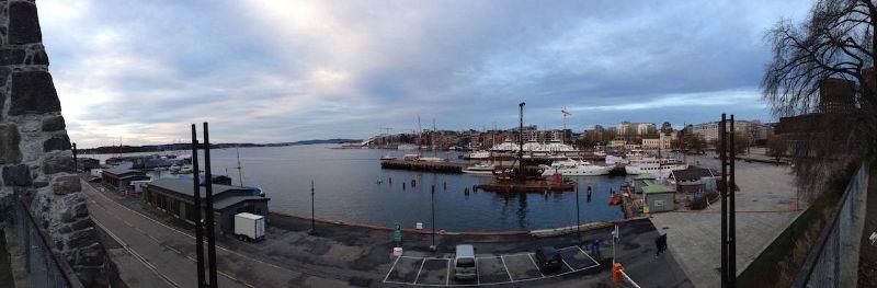 Panorama-Oslo-Hafen