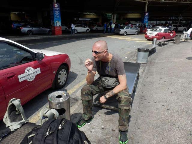 Raucherplatz Flughafen Kuala Lumpur