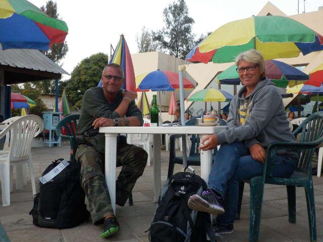 Raucherrestaurant am Flughafen Banjul