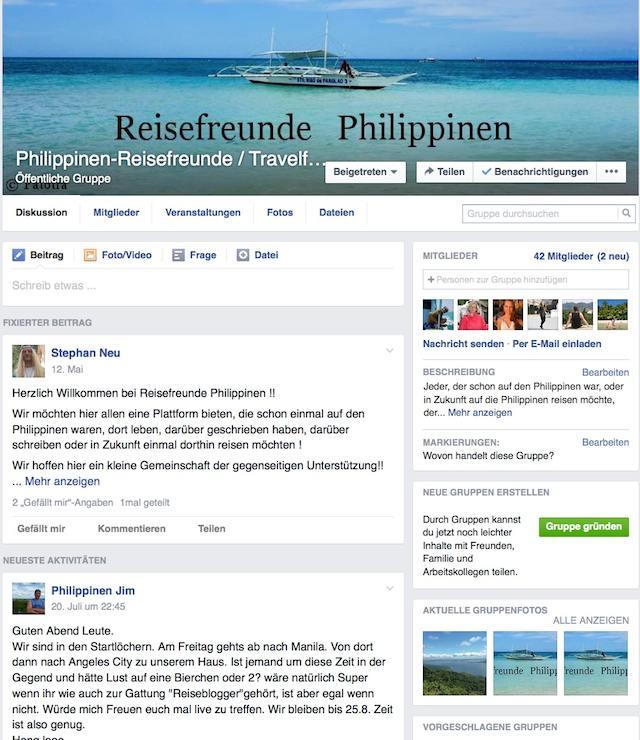 Reisefreunde Philippinen