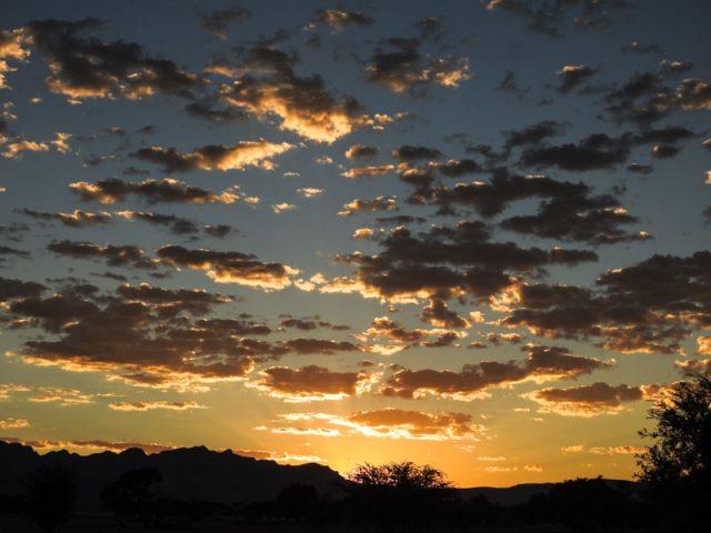 Sesriem-Sonnenaufgang