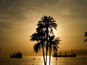 Sonnenuntergang-Aqaba