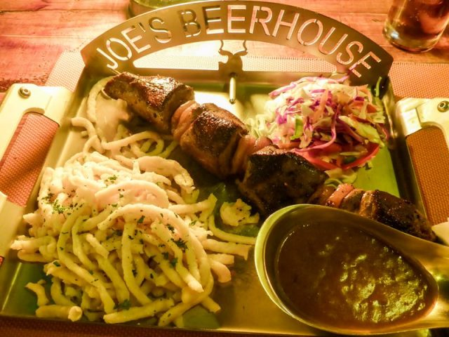 Springbock-Fillet-Kebab