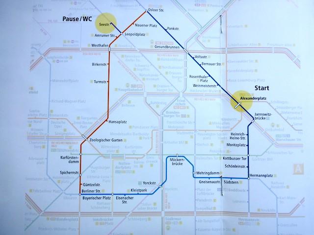 Streckenplan