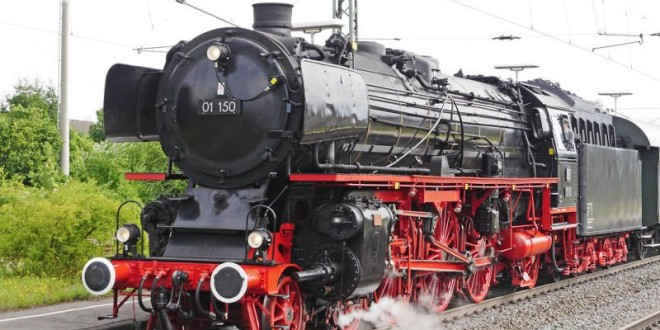 Hamburg mit der Bahn