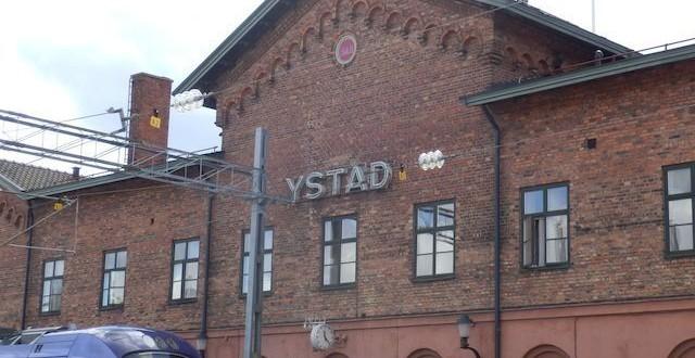 Eine kurze Schiffsreise nach Trelleborg (2/3) Ystadt - wir kommen 2