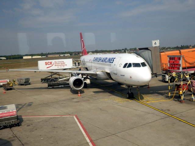 Turkish Airline in Berlin TXL