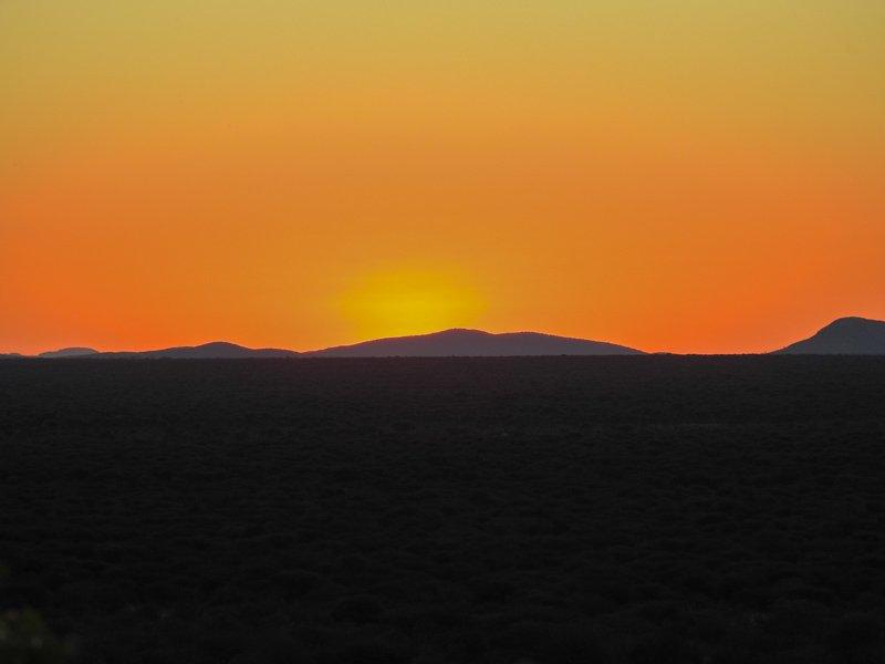 Weavers-Rock-Sonnenuntergang