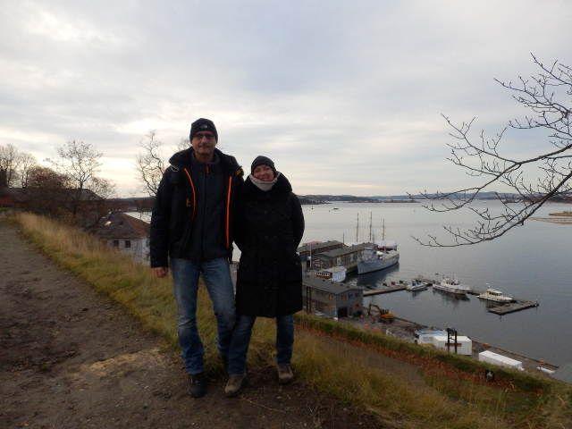Wir beide in Oslo