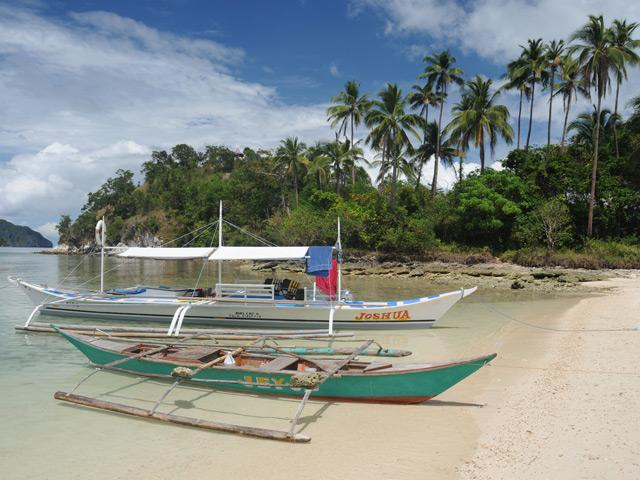Bootstouren führen in den Bacuit-Archipel