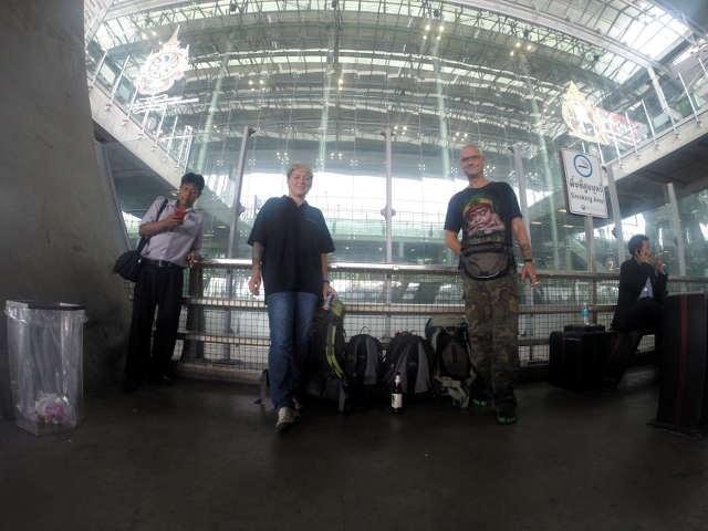 Bangkok hat uns wieder