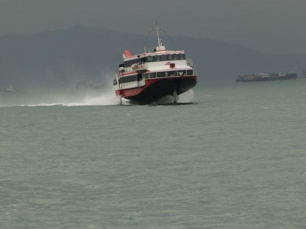 Fähre nach Macau