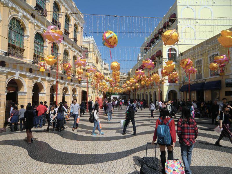 Macau chinesisches Neujahr