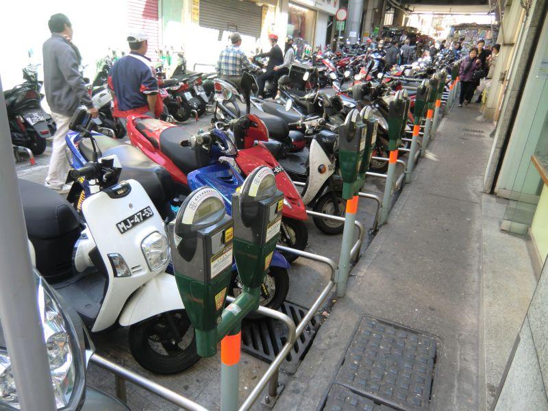 Parkuhren für Roller