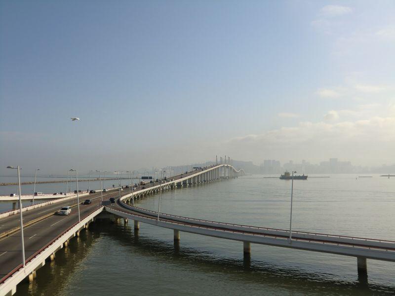 Überfahrt vom Hafen