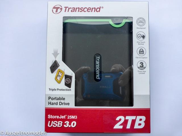 Externe Festplatte Transcend 2 TB