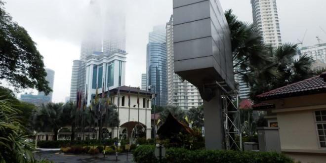 Kuala Lumpur - Erste Erkundung zu Fuß - KL Tower und Petrona Towers 1