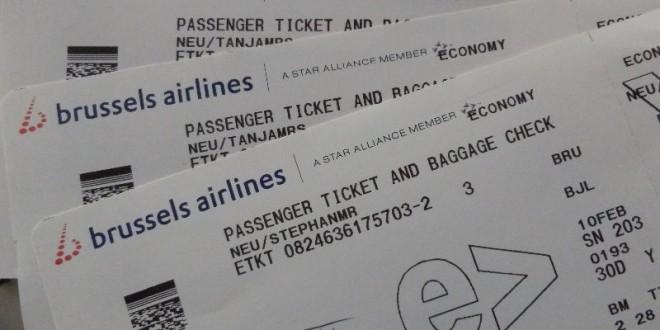 Unsere Anreise mit Brussel Airlines 1