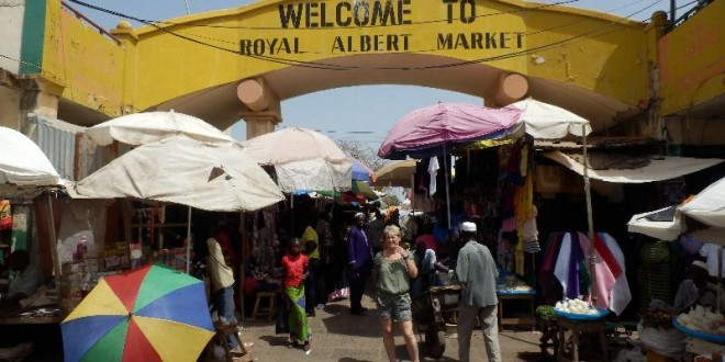 Unser Besuch auf dem Albert Market in Banjul 1