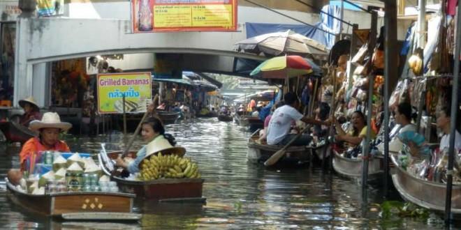 Bangkok - Ausflug zum Floating Market 3