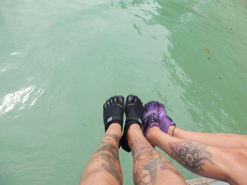 Five Fingers unser perfekter Schuh