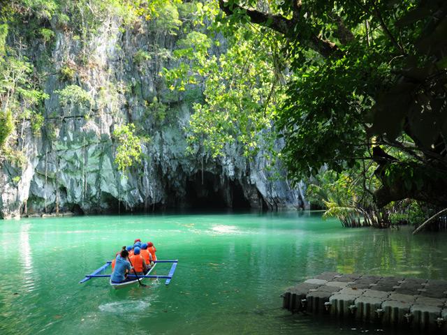 Einfahrt zum Puerto Princesa Underground River