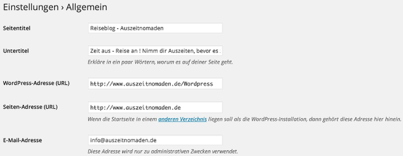 wordpress-backend